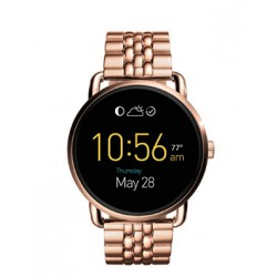 Fossil Orologio Acciaio Q Wander Touchscreen Rosegold Smartwatch Ftw2112